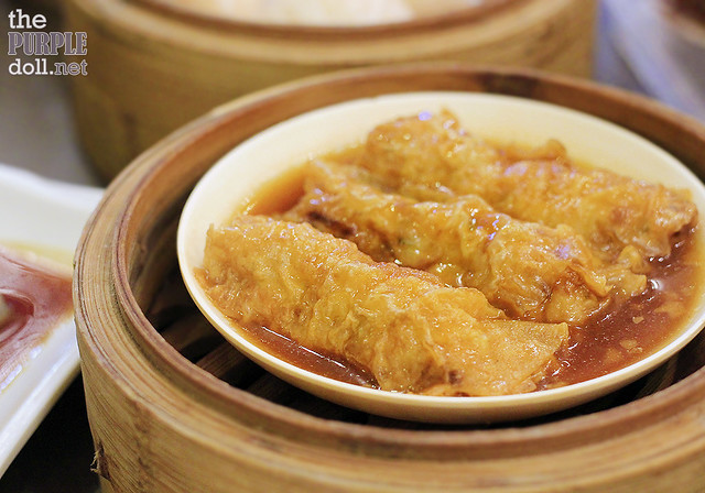 Beancurd Skin Roll with Pork and Shrimp (P120)
