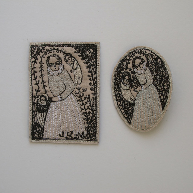 two miniature pieces