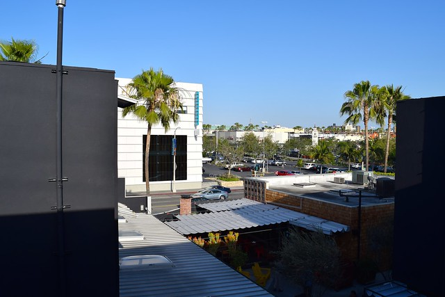 View from Farmers Daughter Hotel, West Hollywood