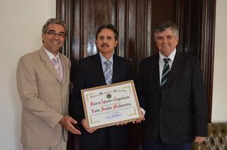 Luiz Madureira recebe Moção de Aplausos e Congratulações pelo cargo