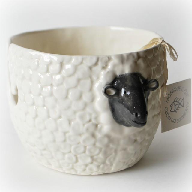 Sheepy yarn bowl