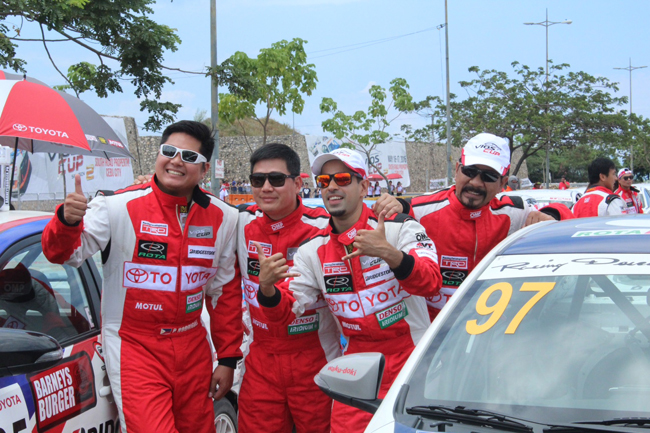 vios cup 2 celebrity drivers