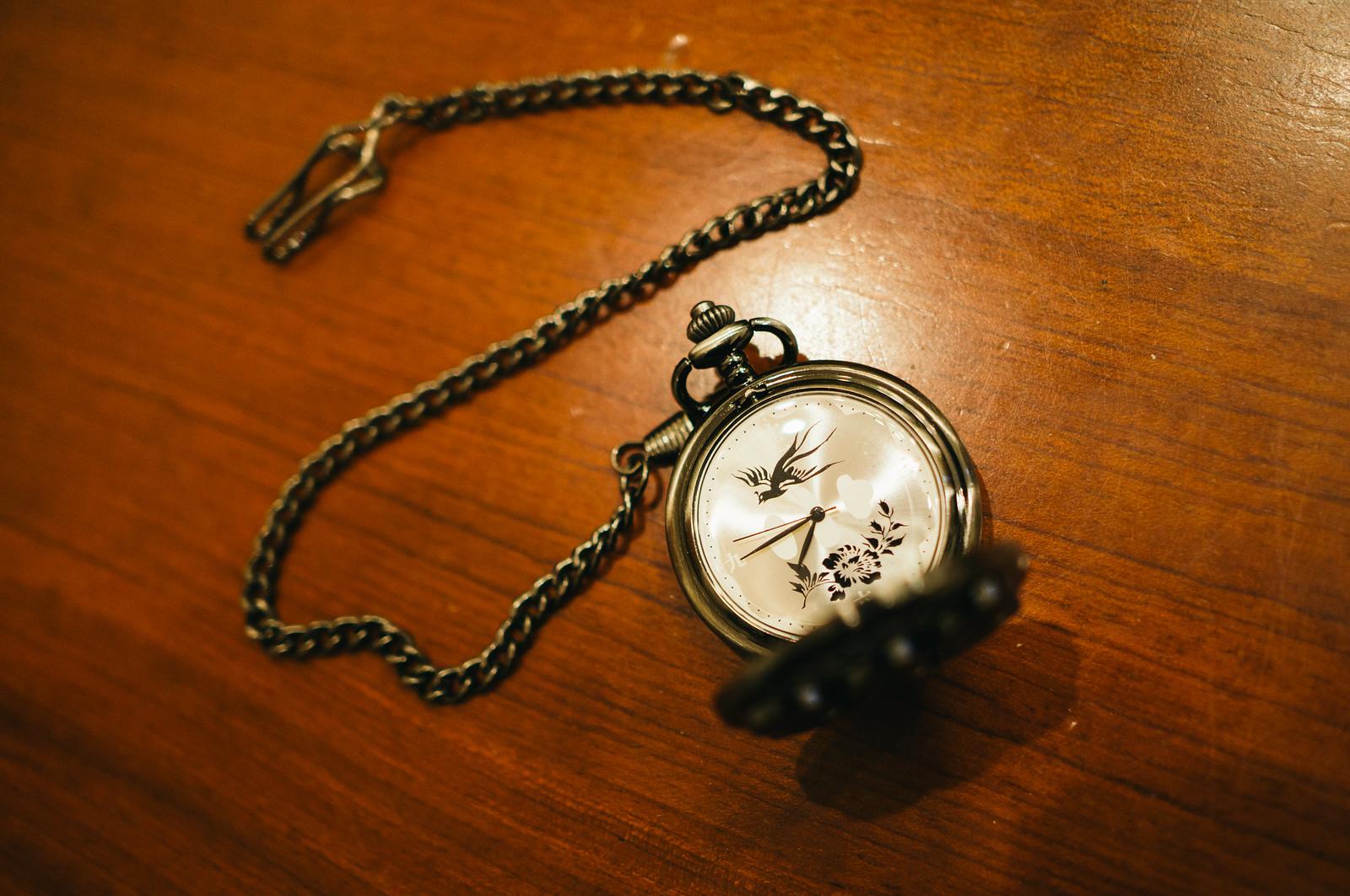 懐中時計「真田家 家紋・六連銭モデル」