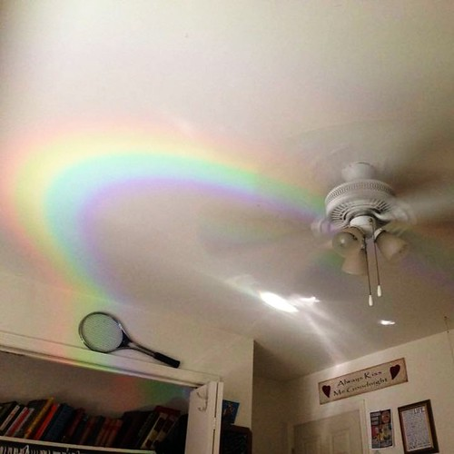 Rainbow in Ana's Room (Nov 18 2015)
