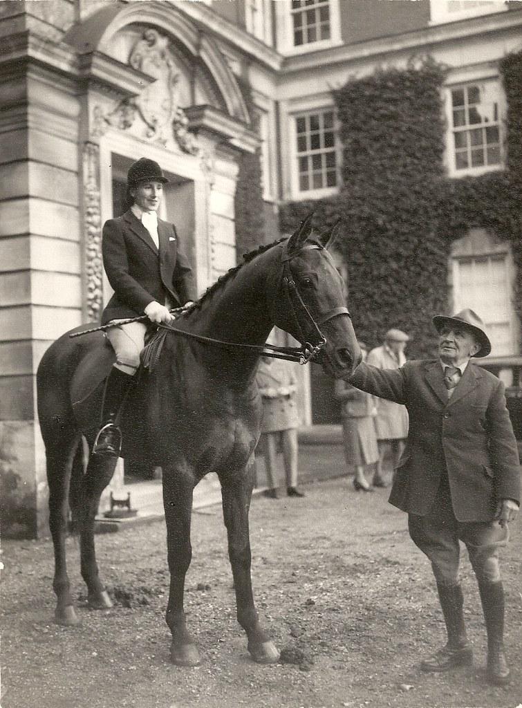 Ernest Ide With Diana Barnato Walker Mbe Circa 1938 Flickr