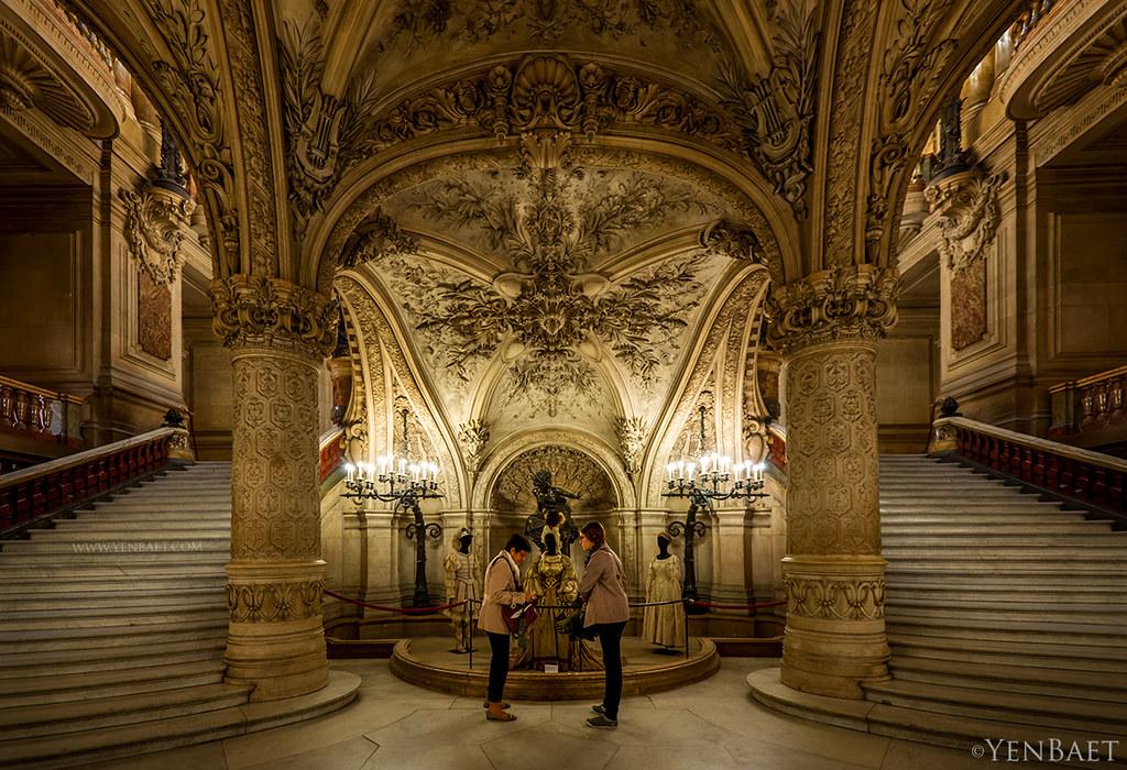Paris Op 233 Ra Garnier To The Grand Staircase Op 233 Ra