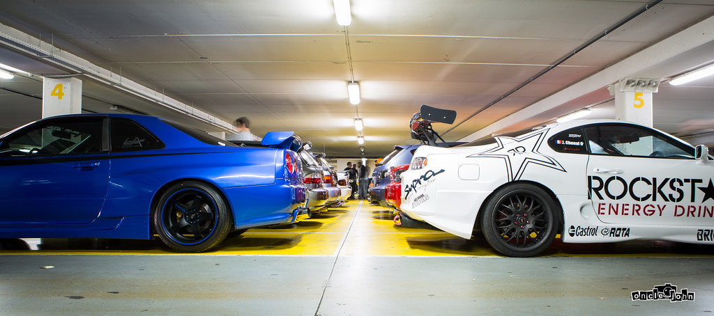 Nissan Skyline Gt R Vs Toyota Supra Mk4 Wangan Import