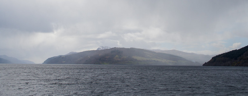 Rain clouds over Loch Ness