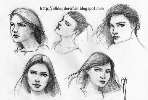 bocetos de mujeres 01