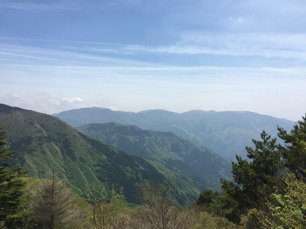 落合峠からの眺め