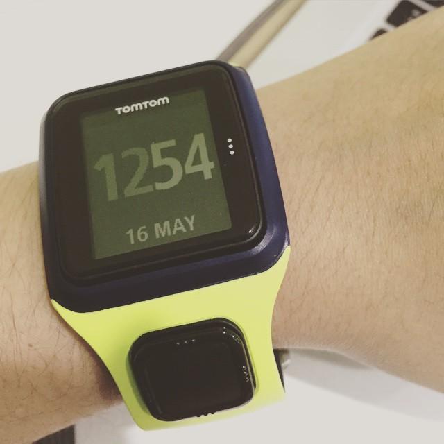 Yay! Got my Tomtom watch already. #ig