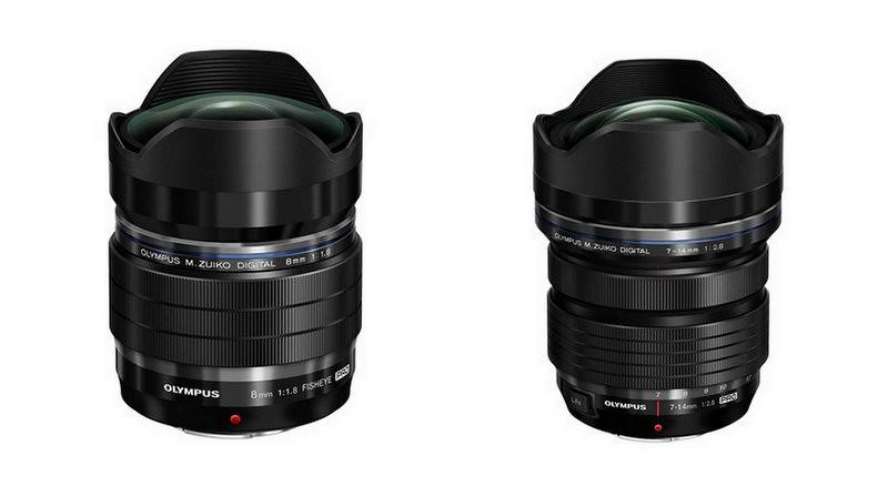 Olympus dévoile les objectifs M.Zuiko Digital ED 7-14mm F2.8 et 8mm F1.8 Pro