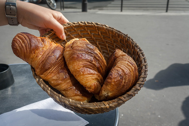 Croissants, Paris