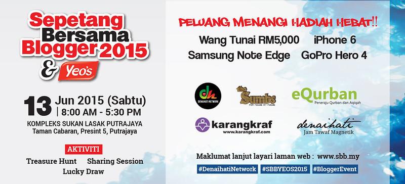 Banner Sepetang Bersama Blogger 2015
