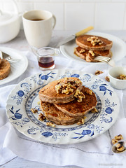 Banana Bread Pancakes - Gluten-Free & Vegan too
