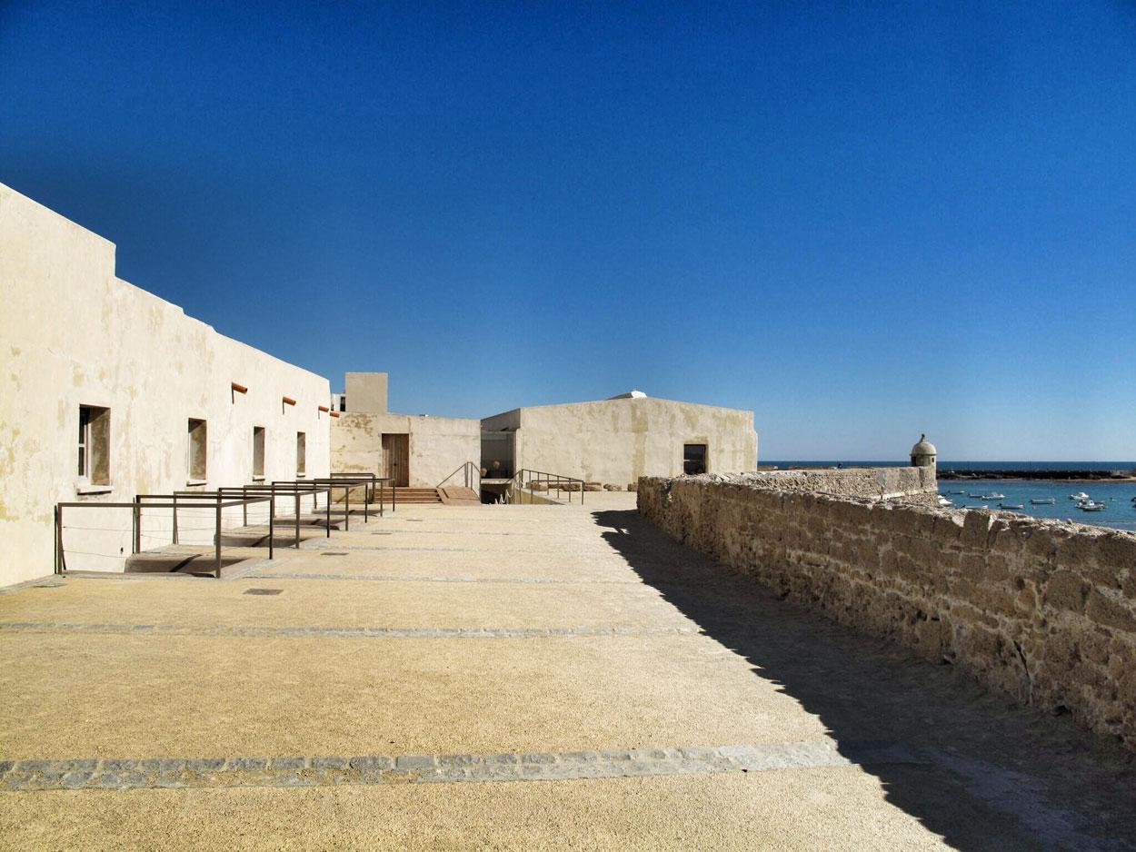 castillo santa catalina_cadiz_ingeniero_cristobal rojas_arquitectura defensiva_rehabilitacion