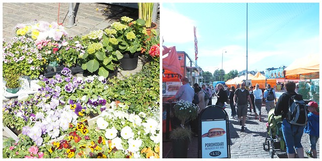 kesäkauppatoripic1, kauppatoi, skatta, helsinki, visit helsinki, kukat, tori, kojut,torg
