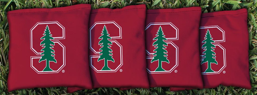 STANFORD UNIVERSITY CARDINAL RED CORNHOLE BAGS