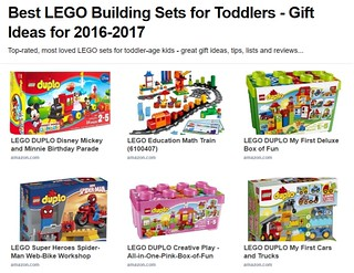 Best LEGO Building Sets for Toddlers - Gift Ideas for 2017