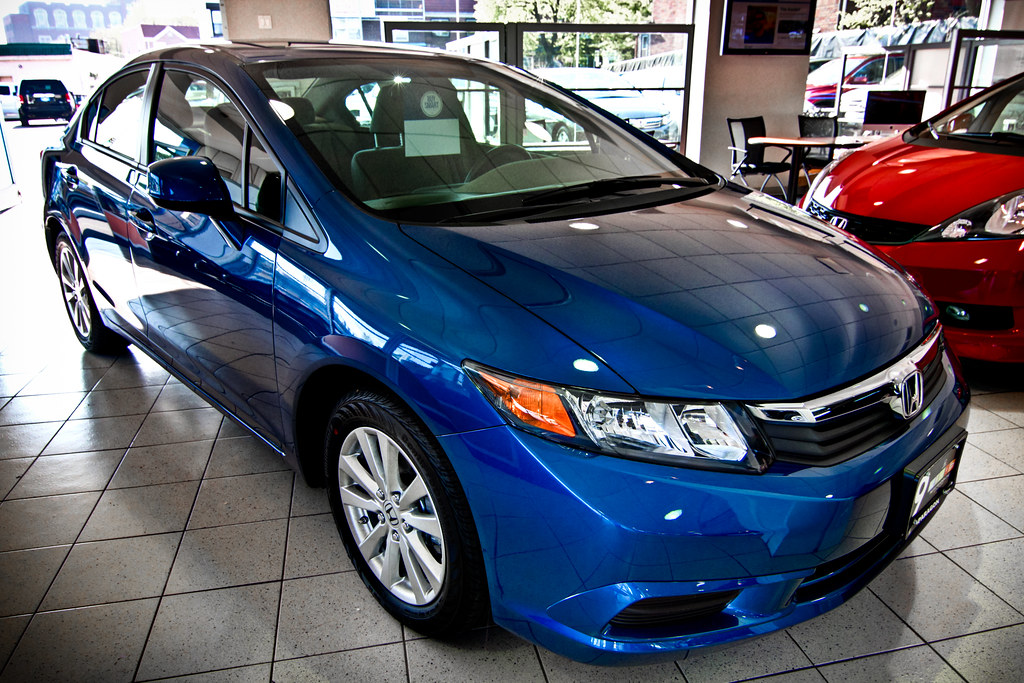 Honda civic at paragon honda in queens ny paragon honda for Paragon honda northern blvd