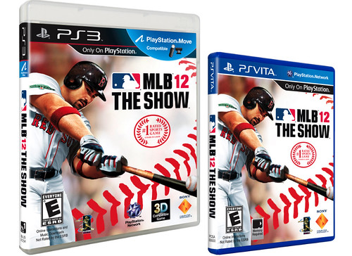 MLB 12 The Show Box Art (PS3 & Vita) | by PlayStation.Blog