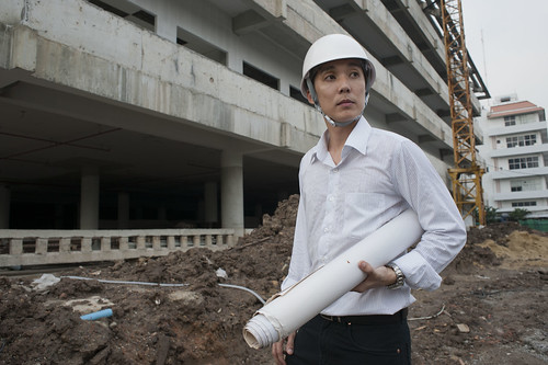 Prasitchai is earning his PhD in civil engineering | by World Bank Photo Collection
