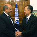 World Bank President Jim Kim and Tunisia's Prime Minister H.E. Hamadi Jebali