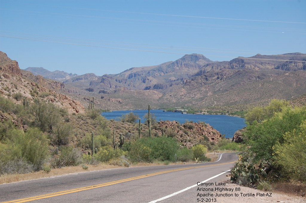 Az Hwy 88 63 5 2 2013 Apache Junction To Tortilla Flat