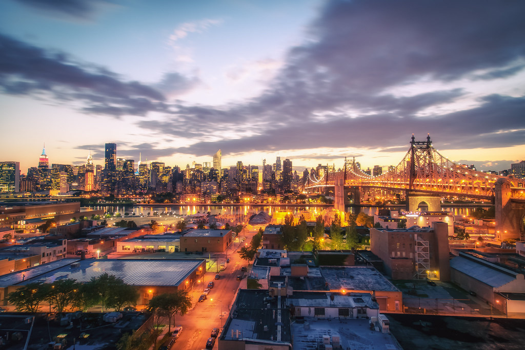 New York City Skyline And Long Island City Rooftops Flickr