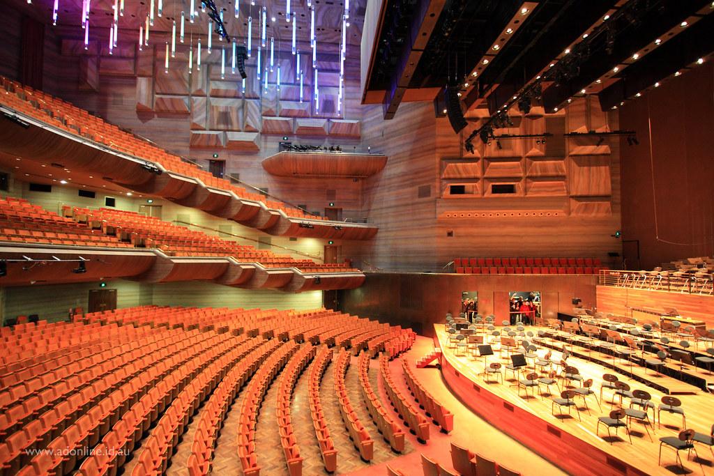 hamer hall the interior of the auditorium at hamer hall. Black Bedroom Furniture Sets. Home Design Ideas
