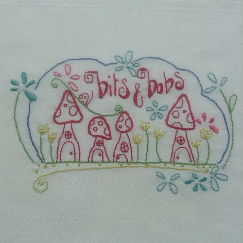 I've finished this #embroidery from #cottonfloss by #natalielymer I changed it a bit as I hate doing satin stitch #🍄handmade #lechallenge