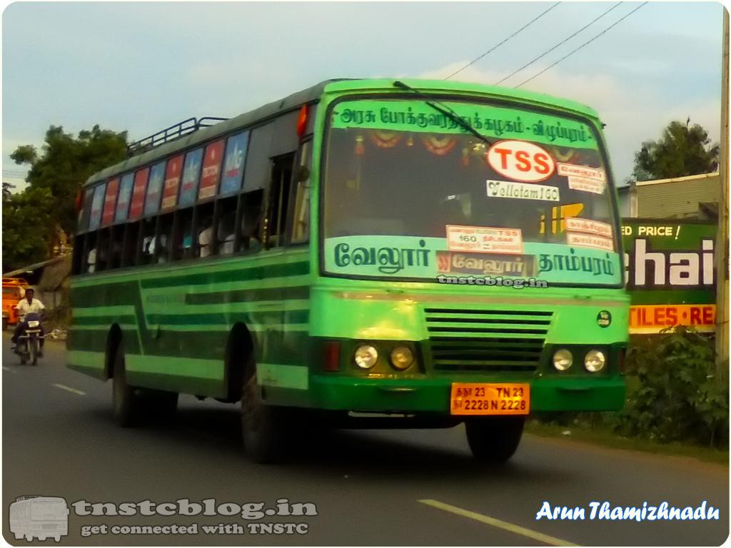 TNSTC Vellore Vellotam 160 TSS Vellore - Tambaram