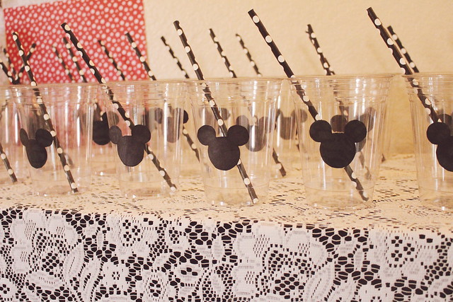 mickey / minnie mouse / breakfast & a movie for dinner party
