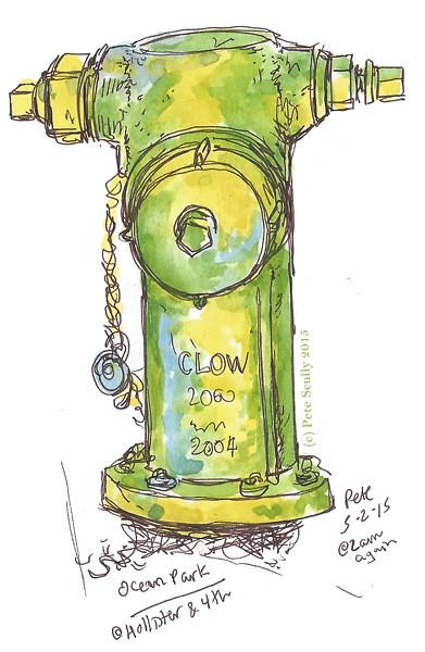 hydrant ocean park sm