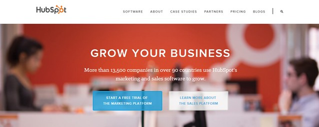 HubSpot Inbound Marketing Sales Software