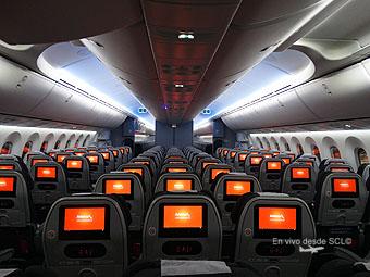 Desde scl avianca destaca su apuesta por chile pese a una for Interior 787 avianca