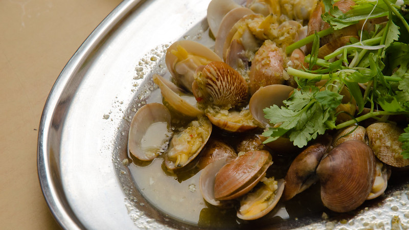Ah Chui Seafood Restaurant 阿水海鲜's Sour Lime Steamed Lala