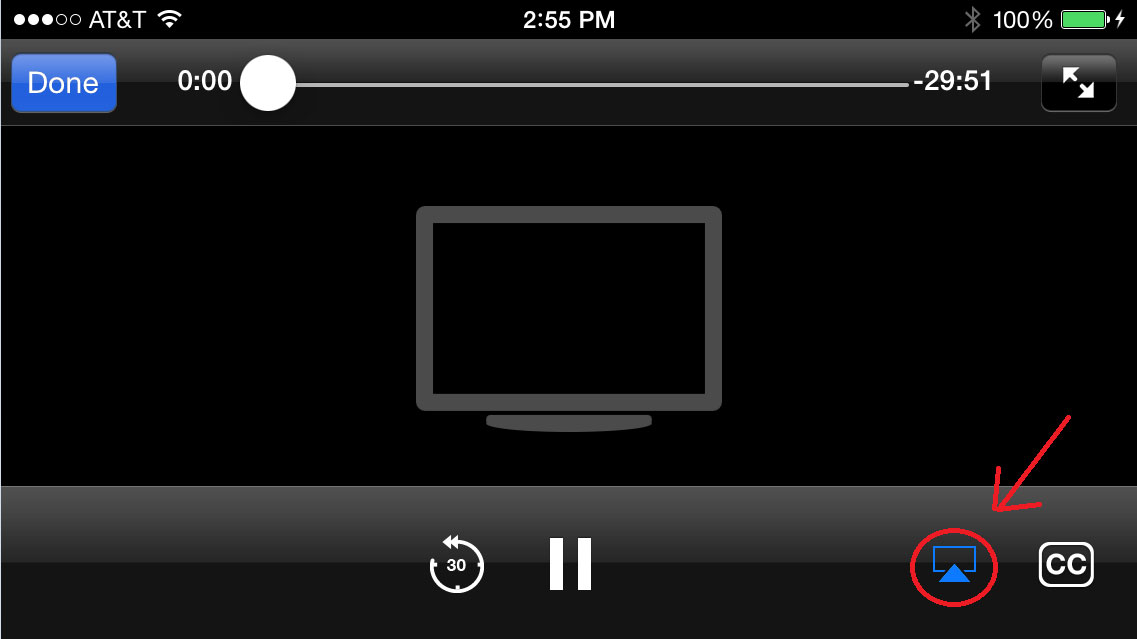 iOS AirPlay