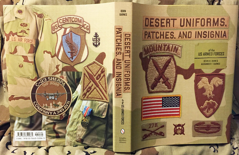 Desert Uniforms, Patches, and Insignia of the US Armed Forces 1st Edition 25333496909_2b2093b5ca_c