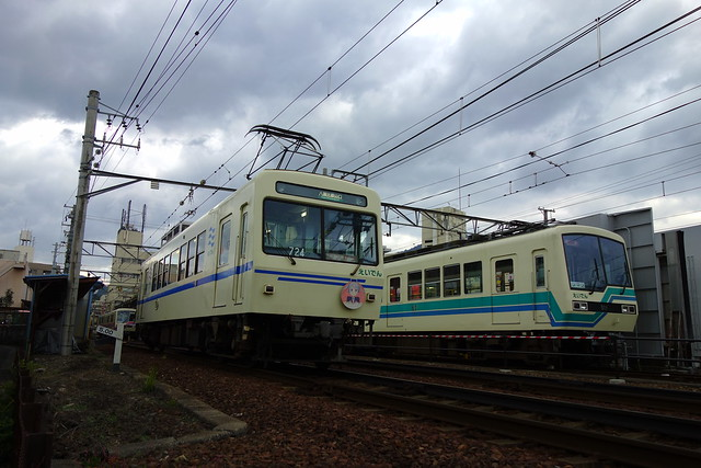 2016/10 叡山電車×NEW GAME! 2016アニメ版ラッピング車両 #44