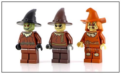DC Comics Super Heroes Scarecrow x3 a