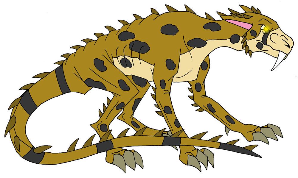 Cheetahsaur A Cheetah Mutant That Appears In My Fanfic