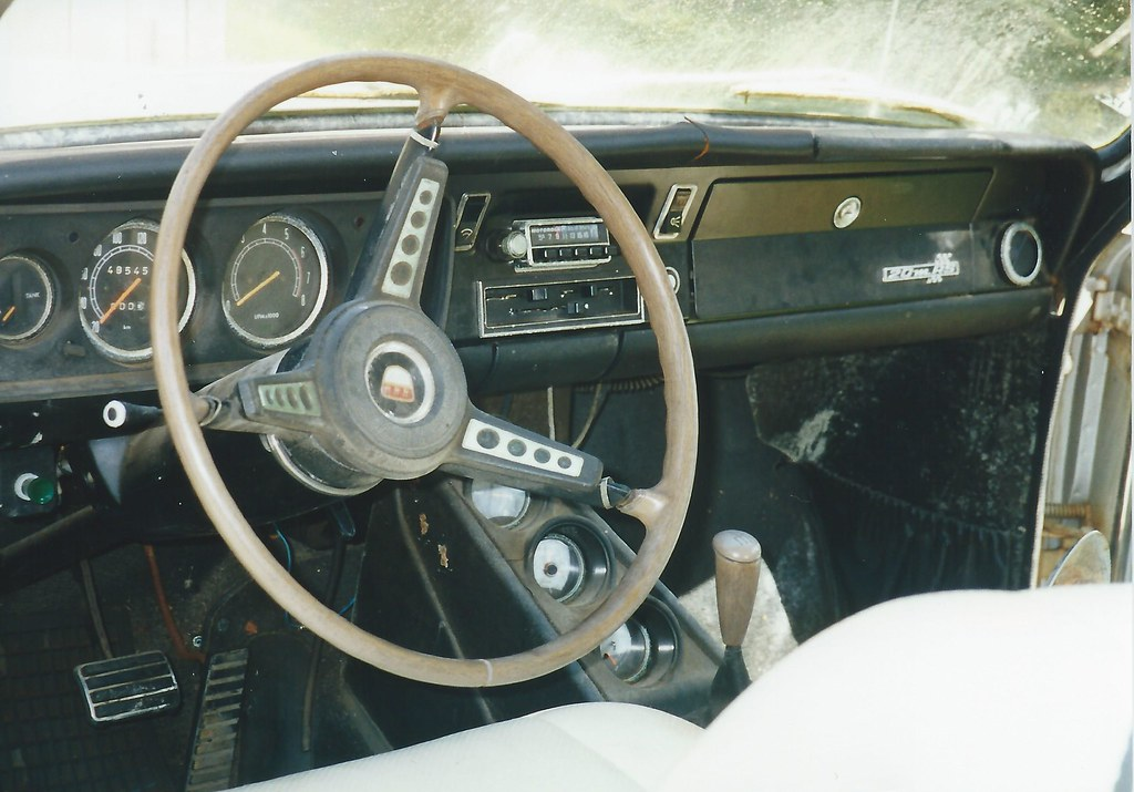 Ford F >> My 1968 Ford 20M RS 2300 Dash | Okay, so the steering wheel … | Flickr