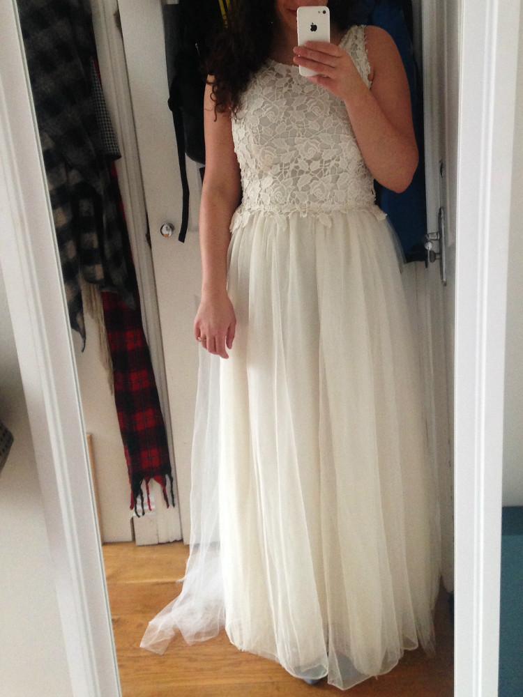 wedding dress bodice fitting