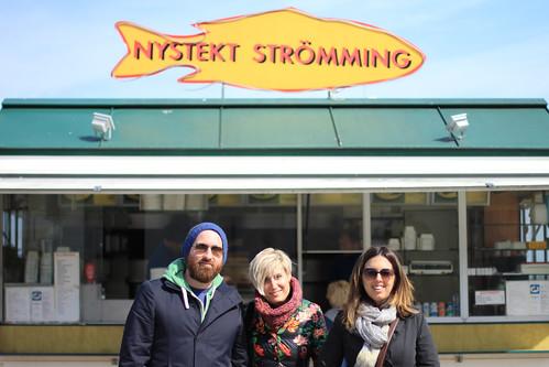 Friends @ Nystekt Strömming