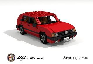 Alfa Romeo Arna (Type 920 - 1983)