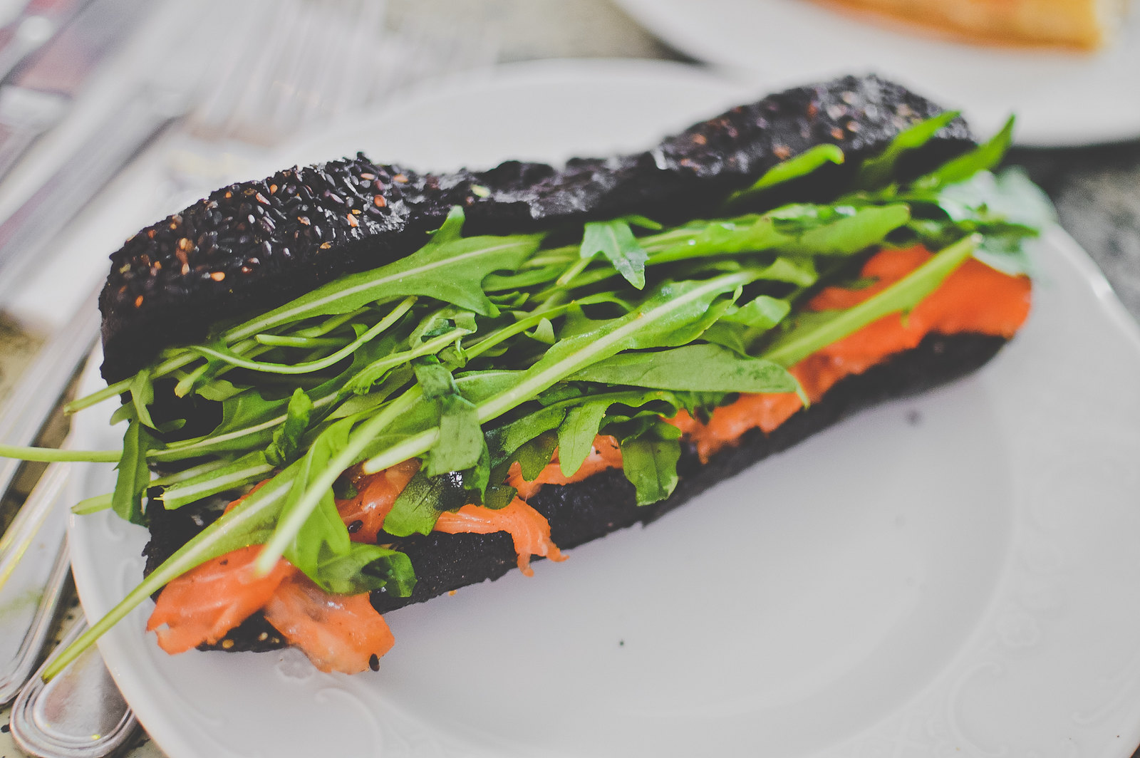 Tiong Bahru Bakery Squid Ink Sandwich
