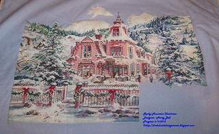 100_9287 - Rocky Mountain Christmas - Designer - Marty Bell - Progress 6-16-2015