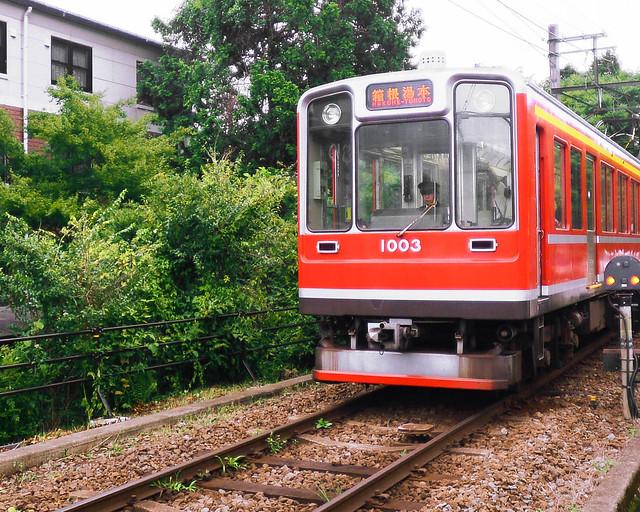 Tren que nos llevó hasta Hakone