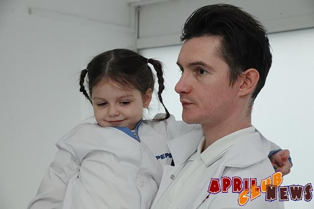 Артур Гальченко с дочкой
